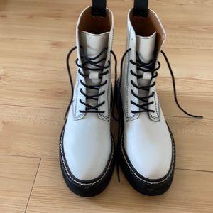 zara combat boot